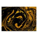 Splash of Gold Art Print