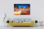 Avenue des Champs-Elysees Art Print on the wall