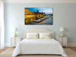 Bateau Mouche Cruising Canvas Art Print on the wall
