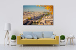 Beauty of the City of Love Art Print on the wall