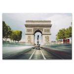 Famous Landmark in Paris Art Print