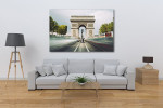 Famous Landmark in Paris Art Print on the wall