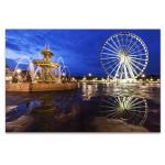 Ferris Wheel on Place de la Concorde Art Print