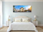 French City Lille with Belfry Art Print on the wall