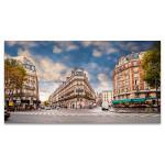 Parisians in Daylight Art Print