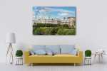 Roue de Paris at Spring Wall Art Print on the wall