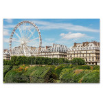 Roue de Paris at Spring Wall Art Print