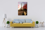 Spring Morning Eiffel Tower Art Print on the wall