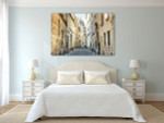 Streets of Montmartre France Art Print on the wall