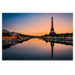 Sun Rises in Paris Art Print