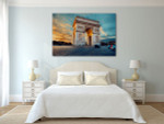 Triumphal Arch Art Print on the wall