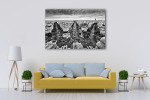 View from Arc de Triomphe Art Print on the wall