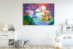 Good Friends Fishing Art Print on the wall