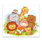 Jungle Animals Art Print