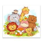 Jungle Animals Art Print