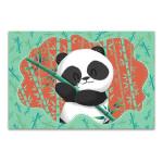 Panda in Bamboo Forest Art Print