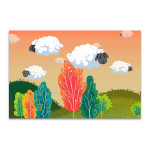Sheeps Cloud Art Print