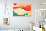 The Sand Beach Art Print on the wall