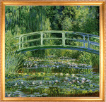 Monet | Water Lilies and Japanese Bridge