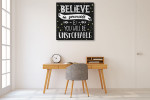 Be Unstoppable Art Print on the wall