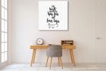 Best Therapist Wall Art Print on the wall