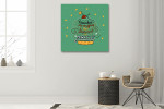 Cupcakes are Muffins Art Print on the wall