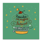 Cupcakes are Muffins Art Print