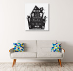 Light in the Dark Art Print on the wall