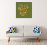 Sunshine in Soul Art Print on the wall
