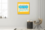 Win and Learn Art Print on the wall