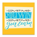 Win and Learn Art Print