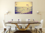 Flying Birds Canvas Art Print on the wall