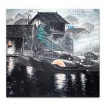 Water House Wall Art Print