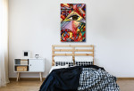 Eye Aperture Canvas Print on the wall