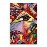 Eye Aperture Canvas Print