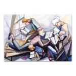 Family Bonding Art Print