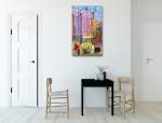 Island of Capri Art Print on the wall