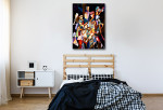Party People Wall Art Print on the wall