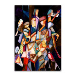 Party People Wall Art Print