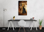 Ancient Fantasy Egyptian Queen Art Print on the wall