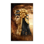 Ancient Fantasy Egyptian Queen Art Print