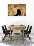 Egyptian Dancer Art Print on the wall