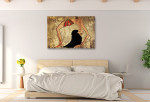 Egyptian Dancer Art Print on the wall