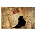 Egyptian Dancer Art Print