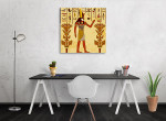 God of Ancient Egypt Art Print on the wall