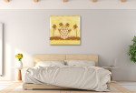 Great Sphinx of Giza Art Print on the wall