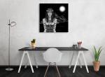 Hathor Canvas Art Print on the wall