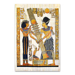 Old Egyptian Papyrus Wall Art Print