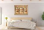 Pharaoh Tutankhamen Art Print on the wall