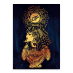 Portrait of Goddess Art Prints
